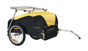 Adventure Cycling Guide cycle touring Burley Nomad bike trailer
