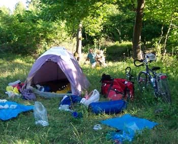 Adventure Cycling Guide cycle touring information Camping