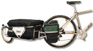 Adventure Cycling Guide cycle touring Koolstop Wilderbeast bike trailer